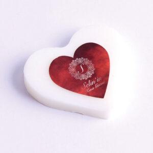 Gümüş Çember Kalp Sabun